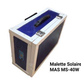 MALLETTE SOLAIRE MAS MS-40W