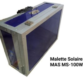 Malette Solaire MAS MS-100W
